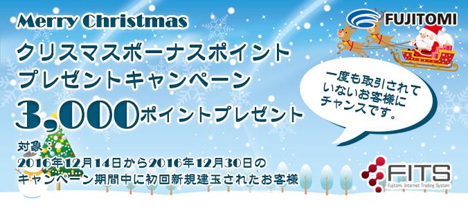 FITSクリスマスキャンペーン
