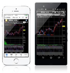 iPhone,Android専用アプリ